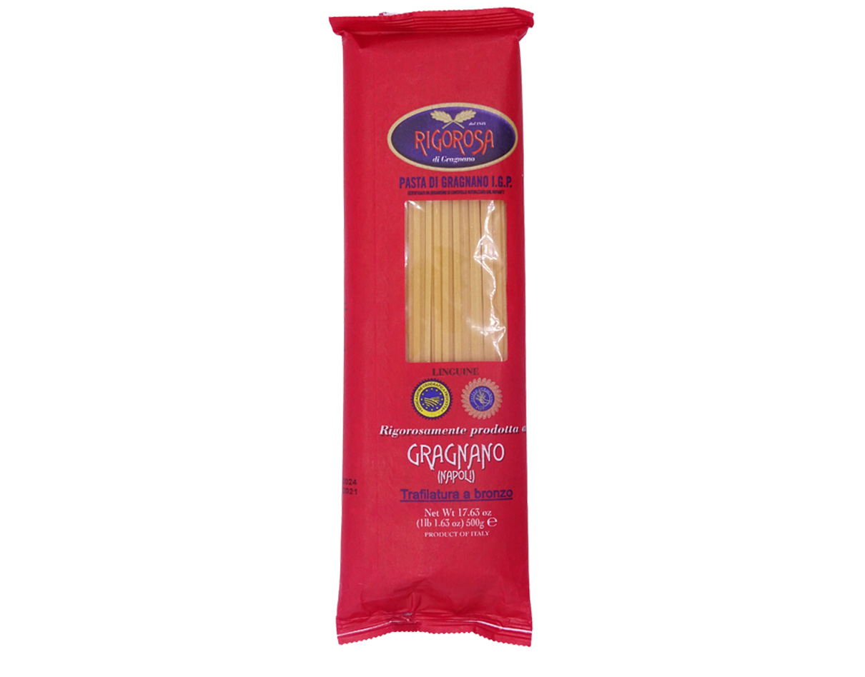 Linguine pasta di Gragnano IGP Rigorosa 500gr