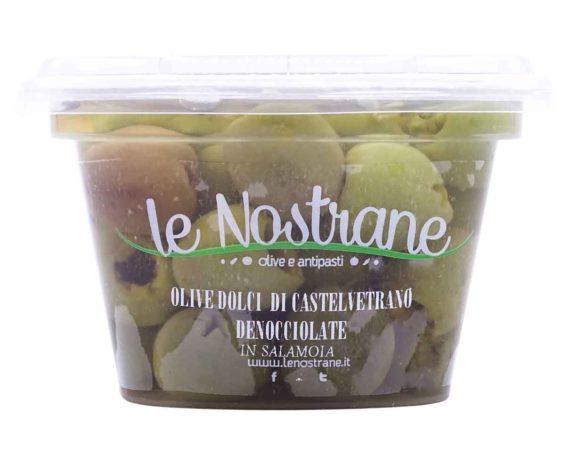 Olive castelvetrano Le Nostrane 200gr