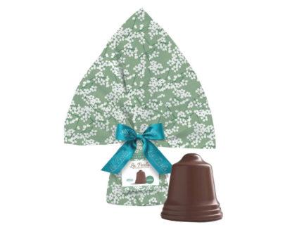 Campana Pasquale Artigianale di cioccolato fondente al 75% La Perla 200gr