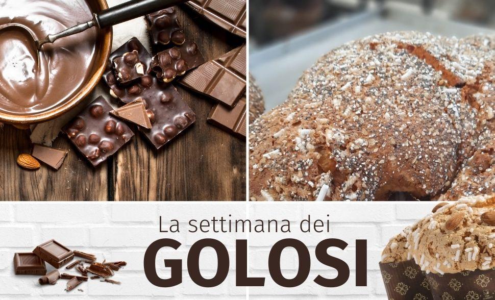 La settimana dei golosi: cioccolata e dolci tutti da gustare!
