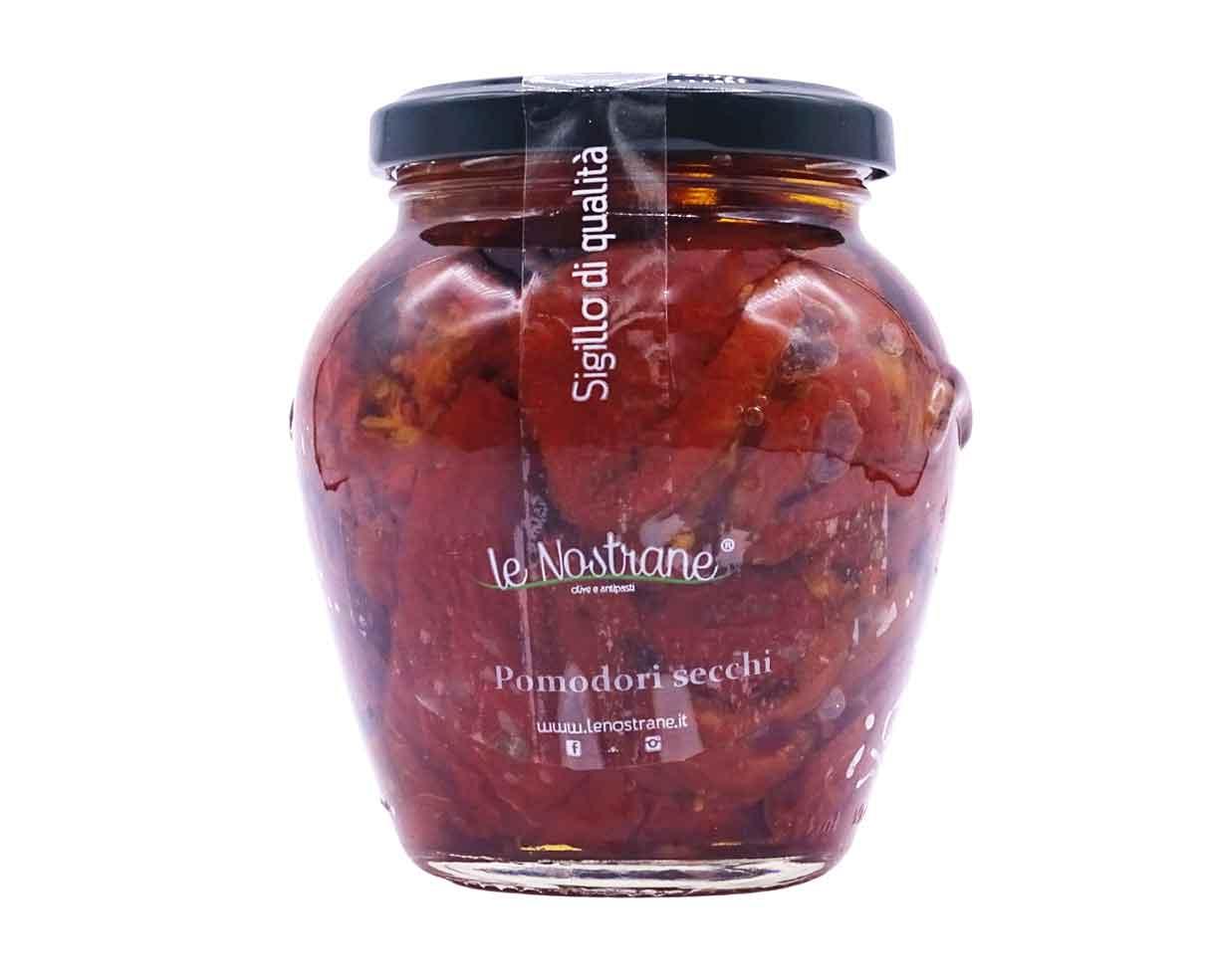 Pomodori secchi italiani in vetro Le Nostrane 290gr