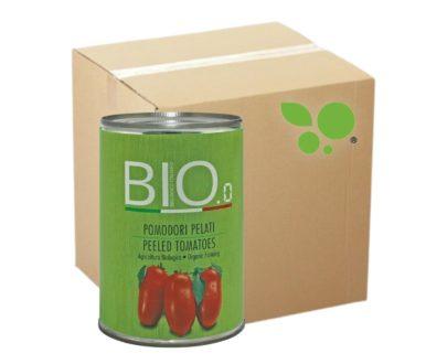 12 confezioni Pomodori pelati Bio Gestal 400gr