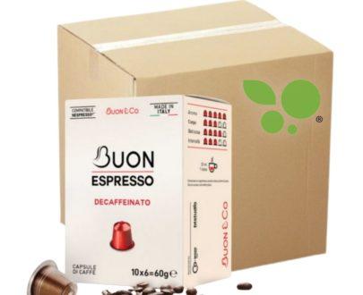 7 x 10 capsule caffè gusto dek compatibili Nespresso