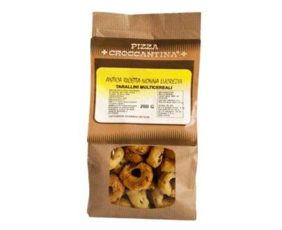 Tarallini Multicereali Pizza Croccantina 200gr