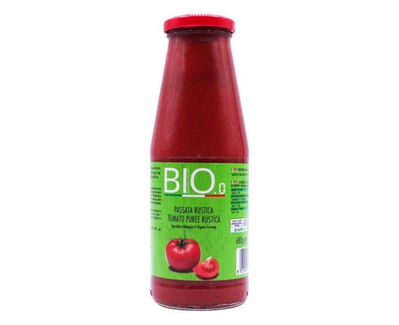 Passata di pomodoro Bio rustica Gestal 680gr