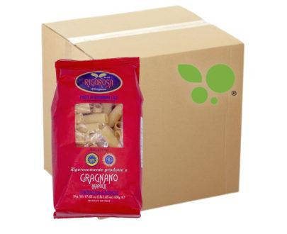 10 confezioni di Rigatoni pasta di Gragnano IGP Rigorosa 500gr