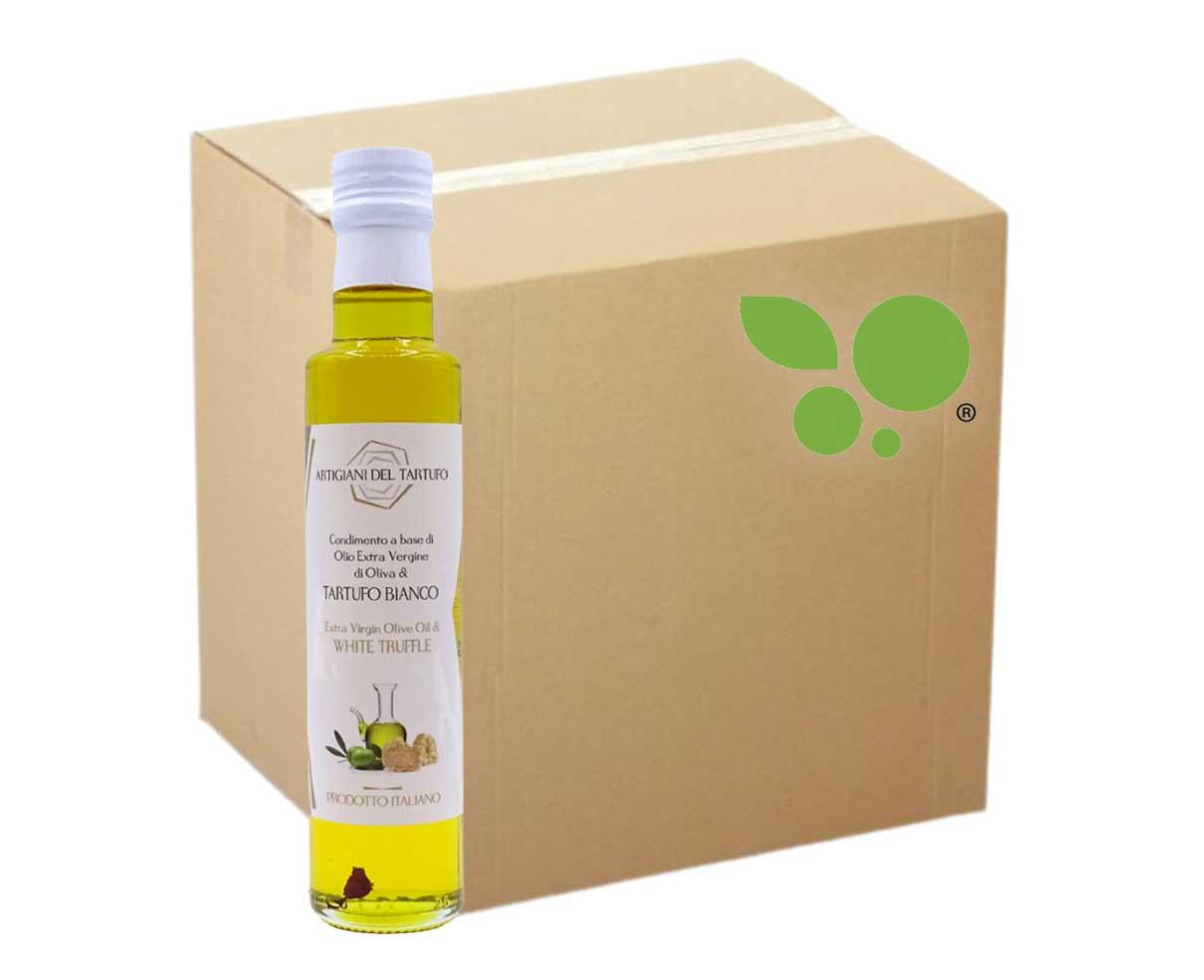 12 bottiglie di Condimento a base di olio evo e tartufo bianco 250ml