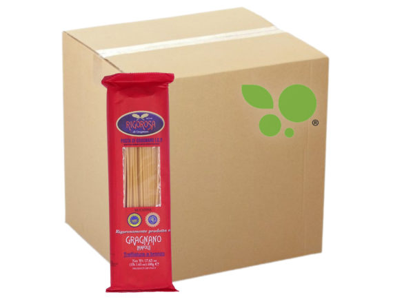 24 confezioni di Bucatini pasta di Gragnano IGP Rigorosa 500gr