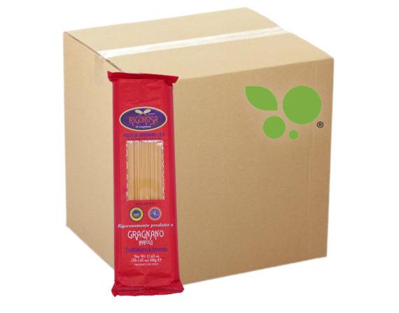 24 confezioni di spaghetti pasta di Gragnano IGP Rigorosa 500gr