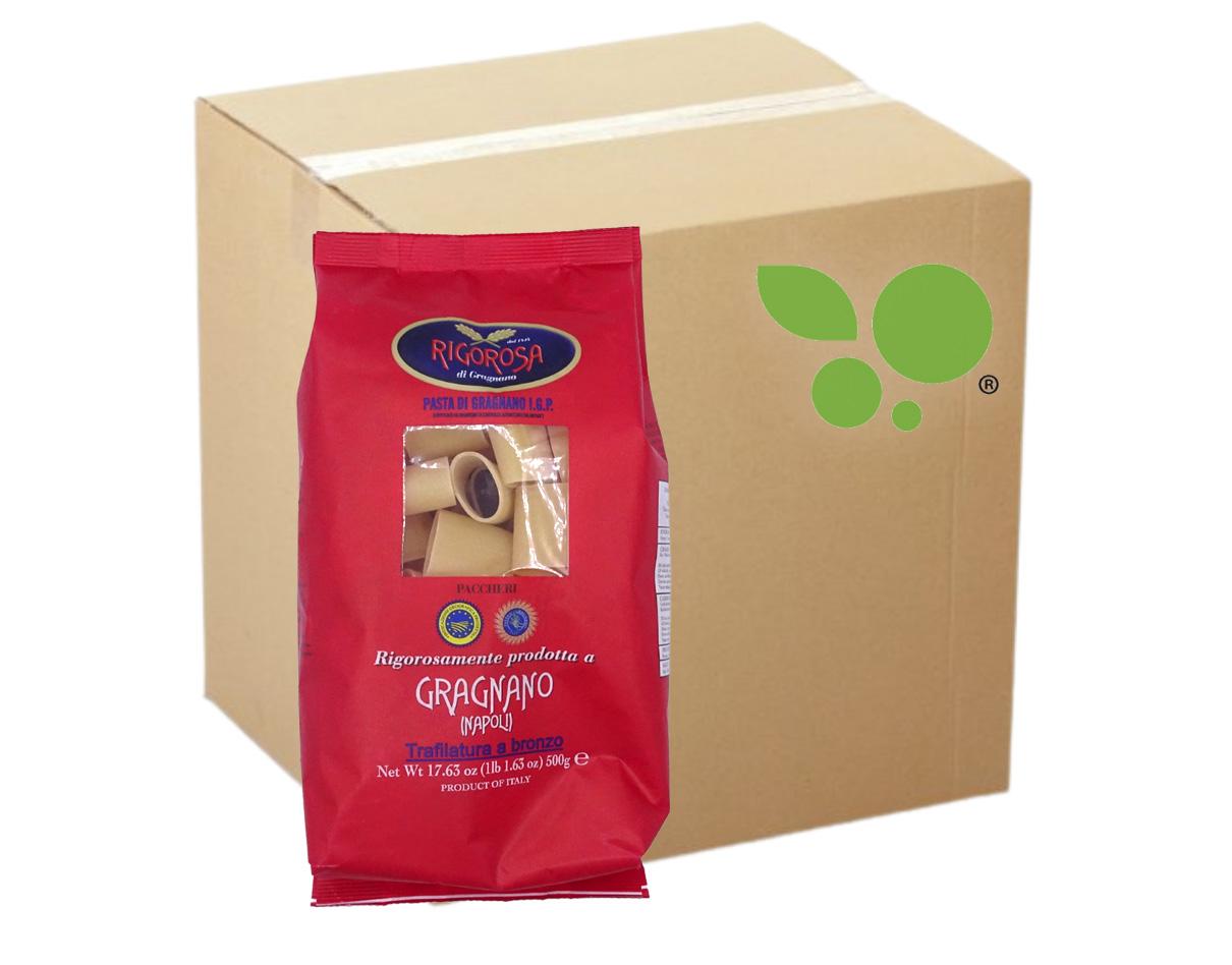 8 confezioni di Paccheri pasta di Gragnano IGP Rigorosa 500gr