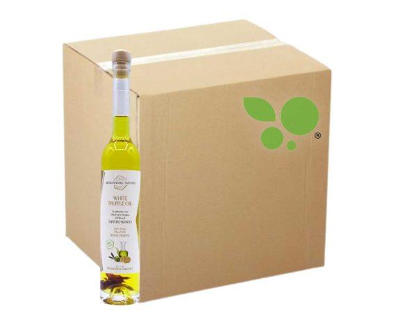 15 bottiglie di Condimento con olio evo al tartufo bianco e lamelle di tartufo 100ml