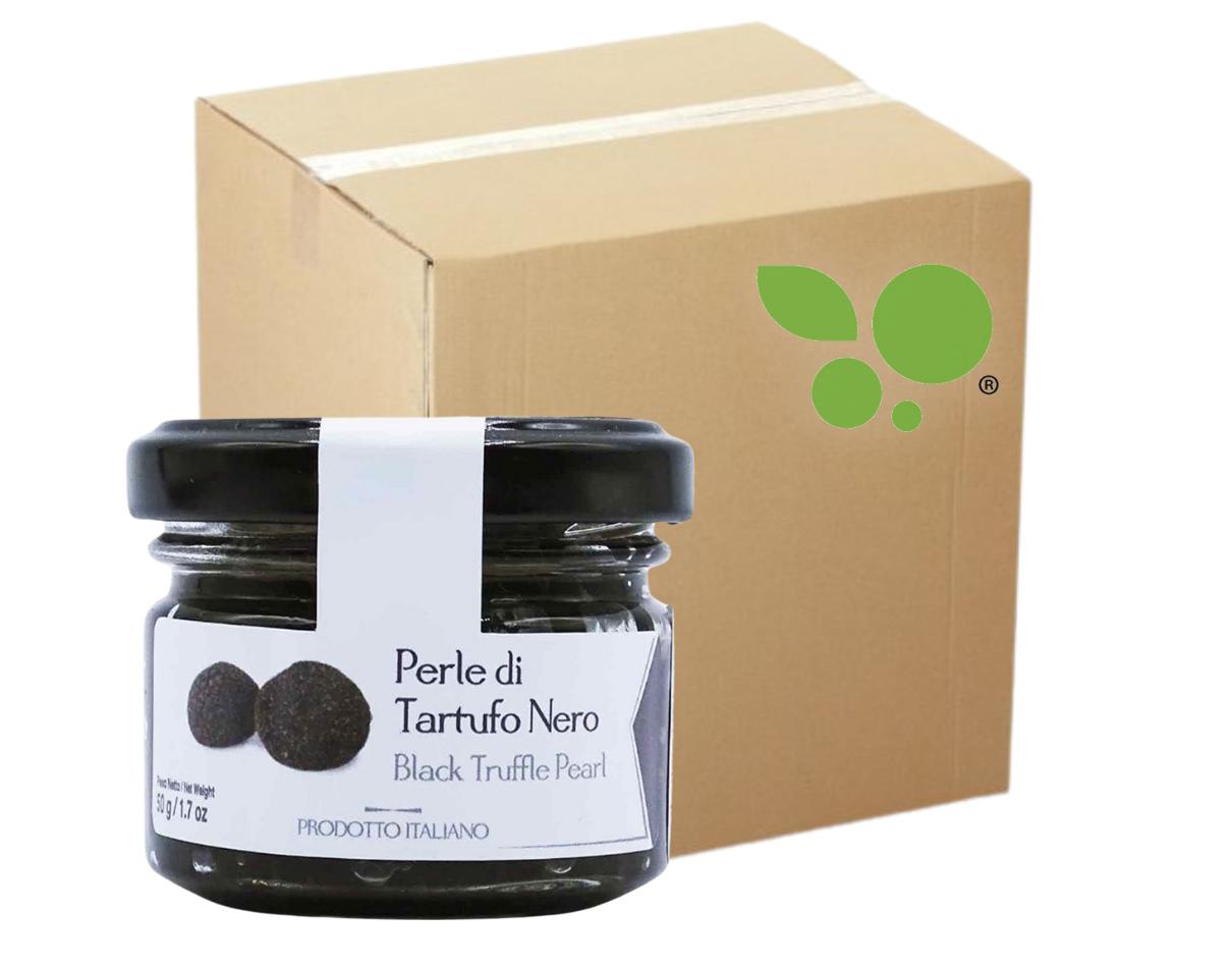12 confezioni di Perle di tartufo nero Artigiani del Tartufo 85gr