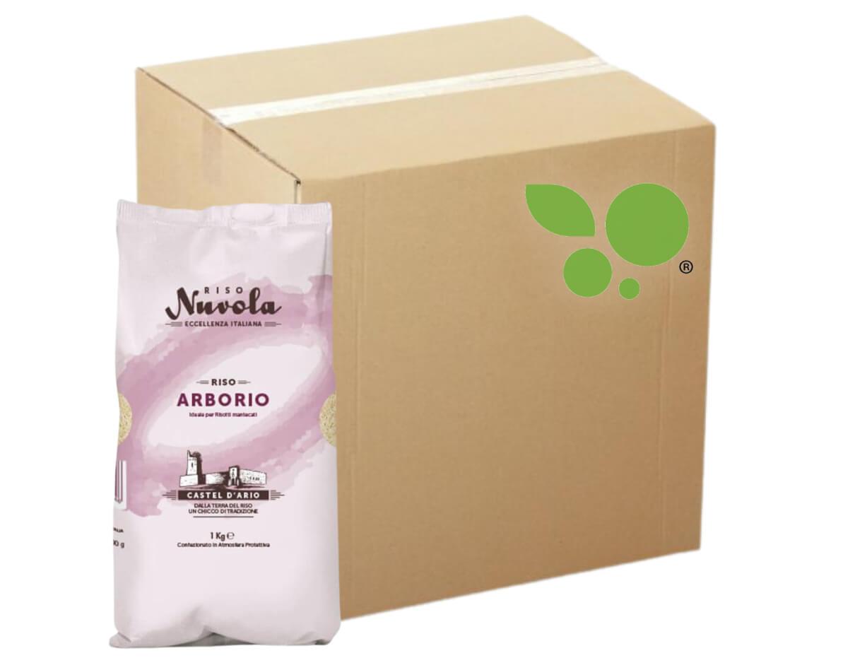 12 confezioni di Riso arborio Nuvola 1kg