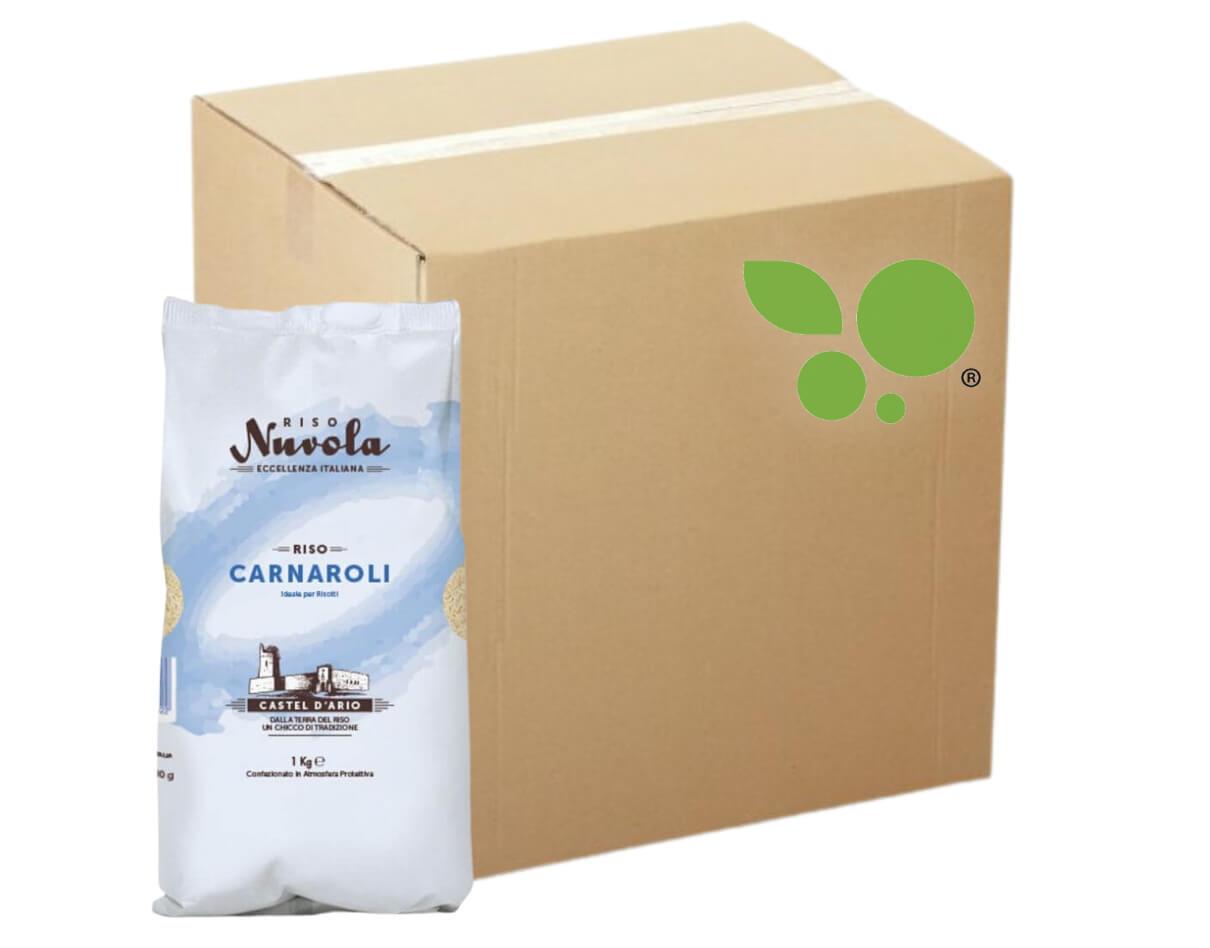 12 confezioni di Riso carnaroli Nuvola 1kg