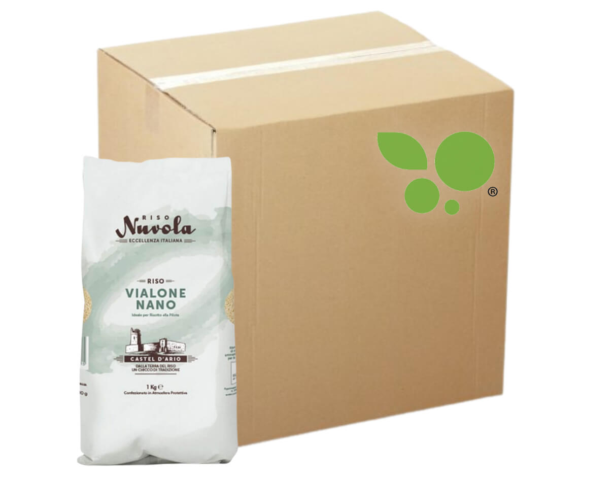 12 confezioni di Riso vialone nano Nuvola 1kg