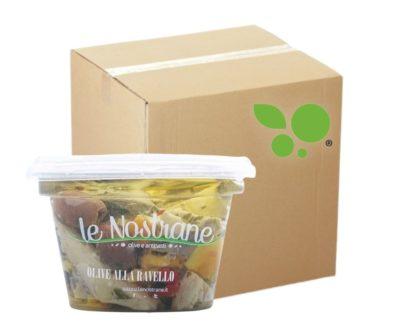 12 confezioni di olive alla ravello Le Nostrane 200gr