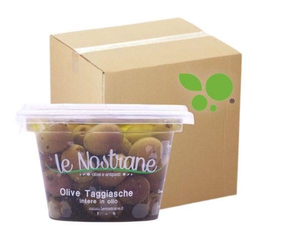 12 confezioni di Olive taggiasche Le Nostrane 220gr