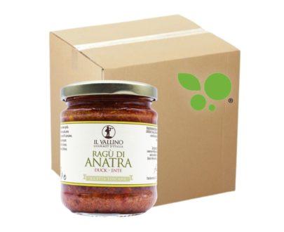 6 confezioni di ragù di anatra Il Vallino 180gr