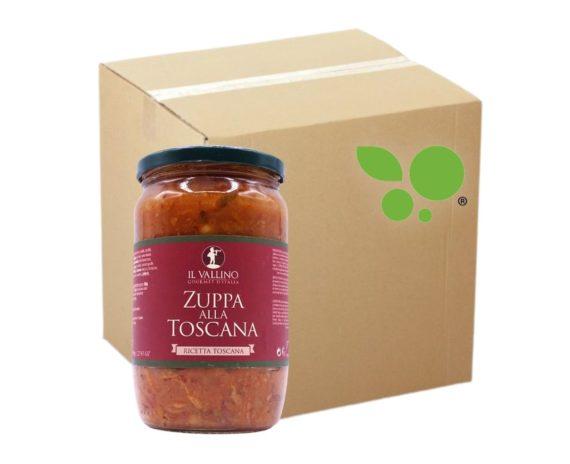6 confezioni di Zuppa Toscana Il Vallino 680gr