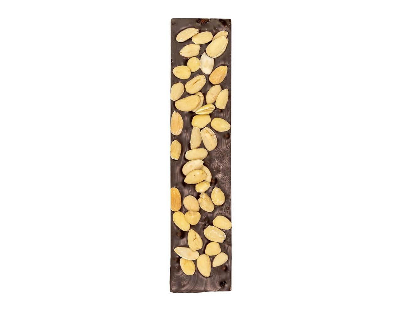 Torrone Rustico al Cioccolato Extra Fondente con Mandorle Apetitus 300gr