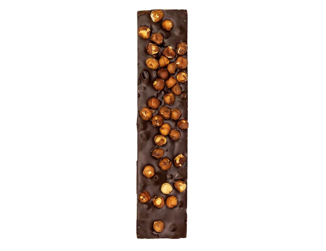 Torrone Rustico al Cioccolato Extra Fondente con Nocciole Apetitus 300gr